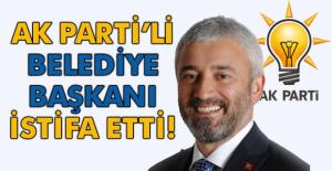 İstifası istenen belediye başkanı, istifa etti!