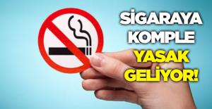 2021'de sigara tamamen yasaklanıyor!