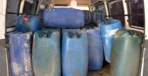 4 bin litre kaçak yakıt ele geçirildi!