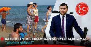 """Milletvekili, Suriyeliler için: """"gücüme gidiyor!"""""""