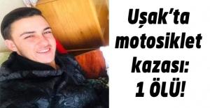 Motosiklet kazasında 17 yaşındaki genç hayatını kaybetti!
