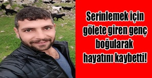 Uşak Bozköy de serinlemek için gölete giren genç boğularak hayatını kaybetti