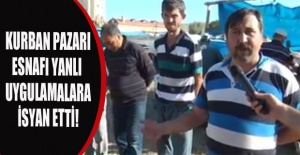 Belediyenin şaibeli kura çekimi iddiaları hayvan satıcılarını ve pazaryeri esnafını çileden çıkardı!
