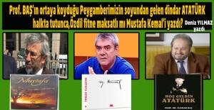 Birisi Atatürk'e; Mustafa demiş dinsiz ilan etmişti, diğeri de Mustafa Kemal diyebildi sadece ve dindar diyemedi.
