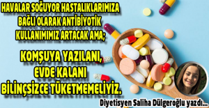 ANTİBİYOTİK FARKINDALIK HAFTASI!!