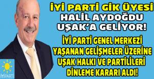 İyi Parti'ye yeni yol haritası belirlemek üzere Ankara'dan misafir geliyor