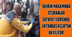 Aşıklar Şehri için utanç tablosu yine ulusal basındayız, Uşak'ta bir insan açlıktan bayıldı