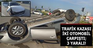 Çevre Yolu Üzerinde Trafik Kazası...