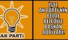 Ak Parti, Uşak'ta Belde Belediye Başkan Adaylarını Belirledi!