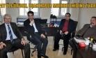 Alpay Özgür, Uşak Haber Merkezi Büromuzu Ziyaret Etti!