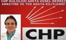 CHP Kulisleri, Süpriz İsmin Yanısıra, Genel Merkezin Yaptırdığı Ankete ve Sonuçlarına Kilitlendi