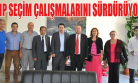 CHP, Seçim Çalışmalarını Hastane Ziyareti İle Sürdürdü!