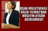 Milletvekili Yılmaz'dan Hüseyin Aygün'e Eleştiri!