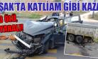 Otomobil Kamyona Çarptı: 3 Ölü, 2 Yaralı!