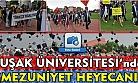 Uşak Üniversitesi'nde 2017 yılı mezuniyet töreni gerçekleştirildi!