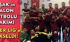 Uşak'ın Salon Futbolu Takımı, Süper Lig'e yükseldi!