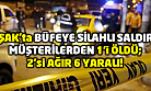 Uşak'ta silahlı saldırı! 1 ölü, 2'si ağır 6 yaralı!