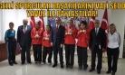 Vali Seddar Yavuz, Dereceye Giren Engelli Sporculara Hediye Verdi!