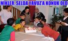 Vali Yavuz'un Eşi Selda Yavuz, Yuva Çocuklarını Konakta Ağırladı!