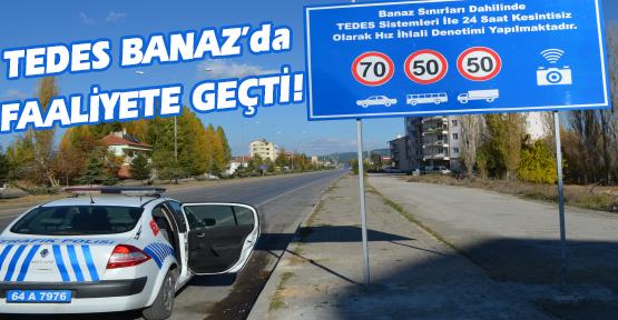 Trafikte Elektronik Denetim, Uşak'ta da Uygulanmaya Başladı!