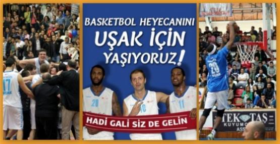 Tüm Uşak El Ele, Beko Basketbol Ligi'ne!