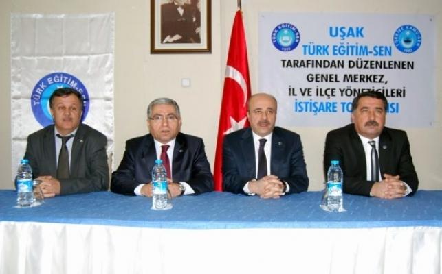 Türk Eğitim-Sen; Genel Merkez, İl ve İlçe Yöneticileri İstişare Toplantısında Buluştu