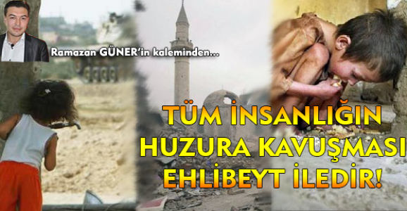 Türk Milleti Ehli Beyt'e Atatürk'e yüzünü dönmedikçe özüne dönmüş olamaz!