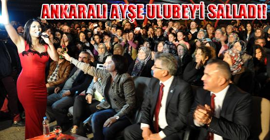 Ulubey Kanyon Festivali'nde Ankaralı Ayşe Rüzgarı Esti!