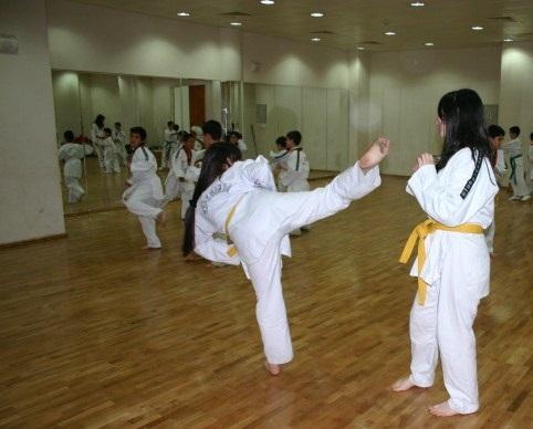 Uşak Akm deki Taekwondo Kursuna Yoğun İlgi