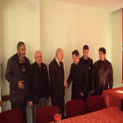 Uşak Halkın Sesi Partisi İl Teşkilatı Başsağlığı Ziyareti...