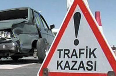 Uşak ta Kaza.. Güre Yakınlarındaki Kazada Otomobil Tıra Arkadan Vurdu.