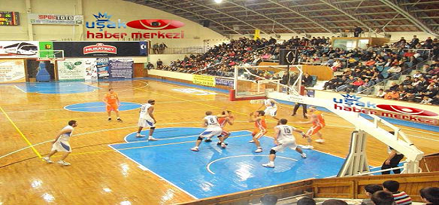 Uşak Üniversitesi Basketbol Kulubü Bu Haftaki Maçta Fırtına Gibiydi.