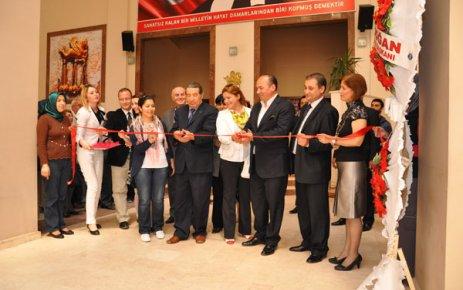 Uşak AKM'de Mozaik Sanat Kampı Açılışı Yapıldı
