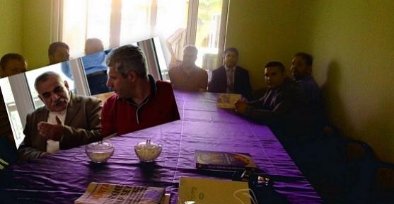 Uşak Alevi Derneği Yönetimi MHP Teşkilatını Ziyaret Etti