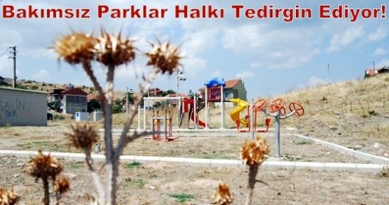Uşak Belediyesi Parkı Tinercilere Terketti, Karaağaç Mahallesi Sakinleri Tedirgin!