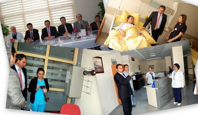 Uşak Milletvekili İsmail Güneş Yeni Hastaneyi Tanıttı!