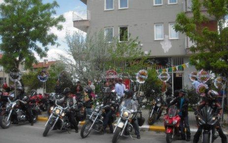 Uşak Motorcular Derneğ'nini Açılışı Yapıldı.