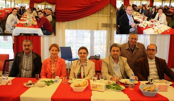 Uşak Musiki Cemiyeti Üyeleri ATAPARK'taki Kahvaltıda Buluştu