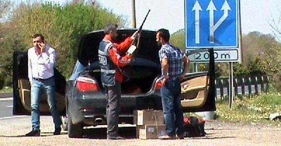 Uşak Polisinden Kaçakçılara Darbe!