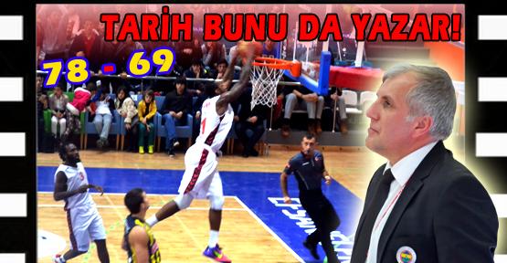 Uşak Sportif, Fenerbahçe Ülker'in Fiyakasını Bozdu!