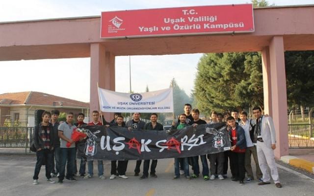 Uşak Üniversitesi Beşiktaşlılar Kulübünden Anlamlı Ziyaret