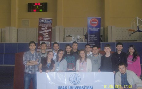 Uşak Üniversitesi Robot Kulubü Öğrencilerinin Başarısı..