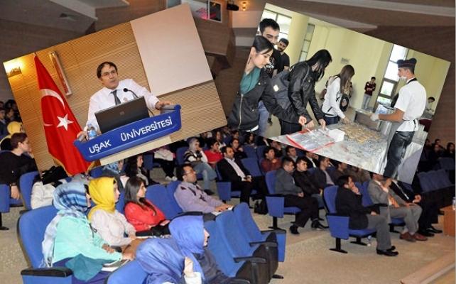 Uşak Üniversitesi'nde Muharrem Ayı Konferansı Sonrası Aşure de Dağıtıldı
