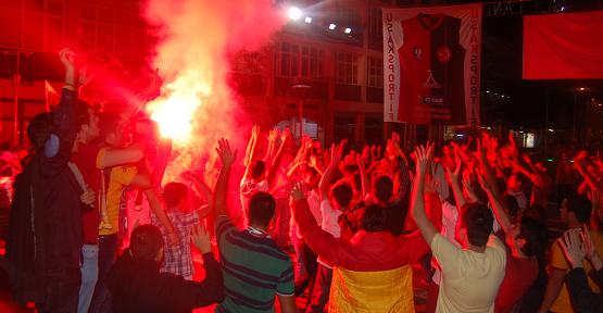 Uşak'ta Galatasaray Coşkusu!