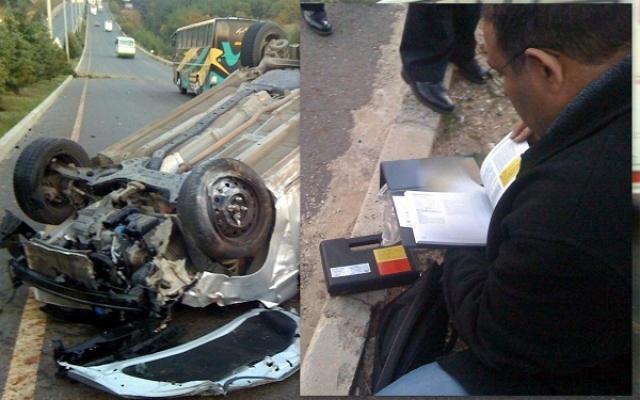 Uşak'ta Esrarengiz Trafik Kazası. Kaza Sonrası Ortaya Çıkanlar Çok İlginç!