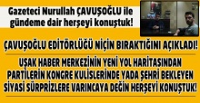 Nurullah Çavuşoğlu ile şehir ve ülke siyasetini ve kurumları konuştuk.