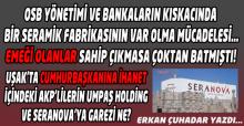 UMPAŞ Holding'in Can Damarı Olan Seranova Markası Bu Kadar Kolay Harcanamaz!