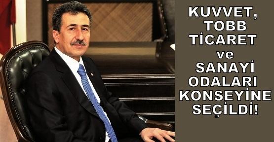 UTSO Başkanı Mustafa Kuvvet Konseye Seçildi!