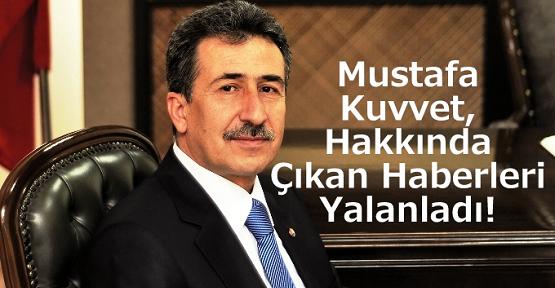 UTSO Başkanı Mustafa Kuvvet'ten Hakkındaki Haberlere Yalanlama!