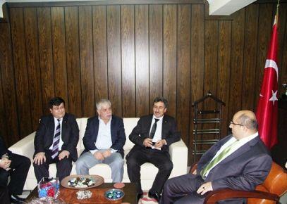 UTSO, Emniyet Müdürü Şammaz Demirtaş'ı Ziyaret Etti